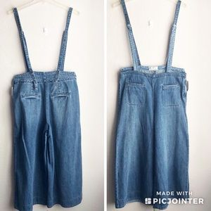 NWT | Free People Strappy Overalls